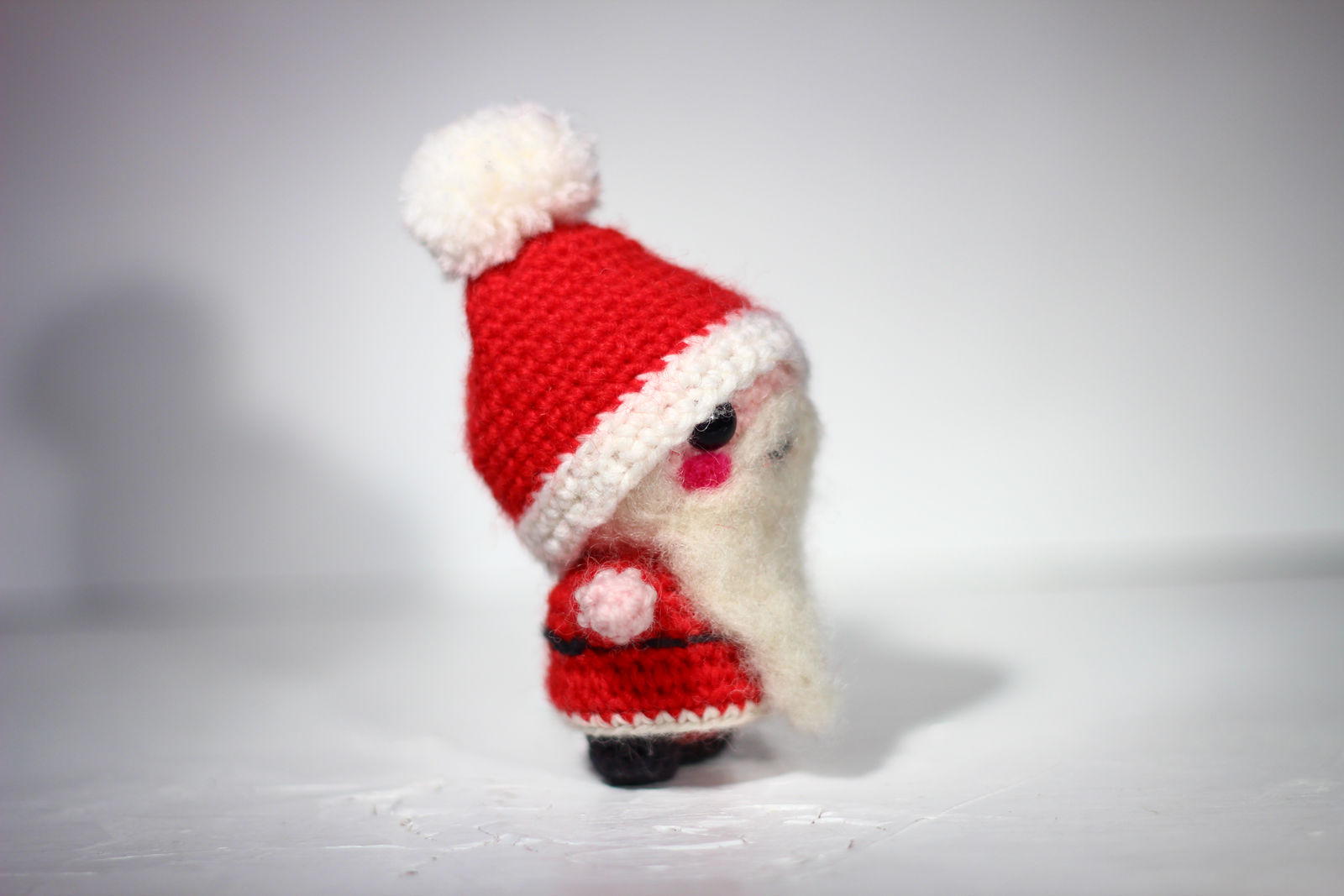 Amigurumi Santa Claus free pattern | The Sun and the Turtle