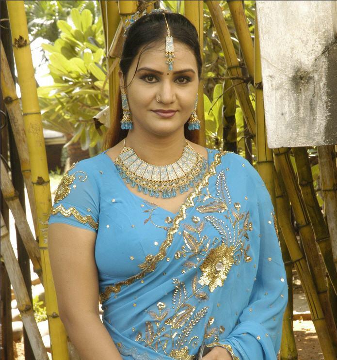 INDIAN ACTRESS: South Indian Actress Apoorva In Saree