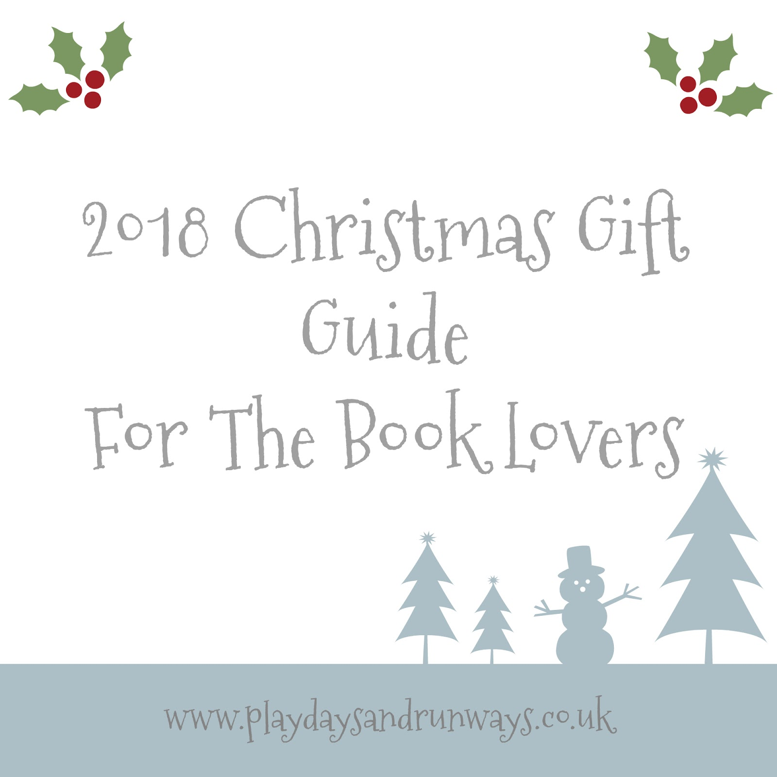 2018 Christmas Gift Guide For The Book Lovers   Playdays and Runways