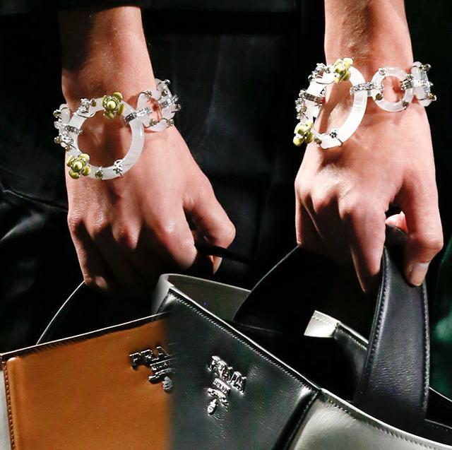 DIY Idea: Prada Spring 2013 RTW Bracelets