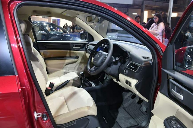 Novo Honda Amaze 2019