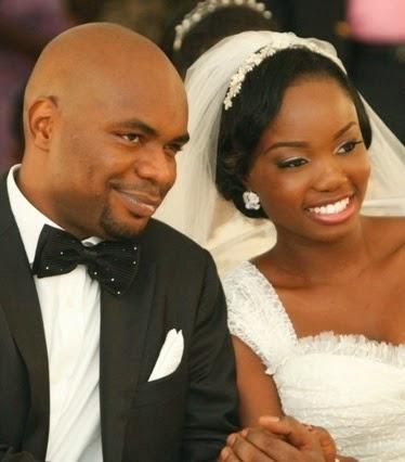 Orode and her husband, Ryan Okpu