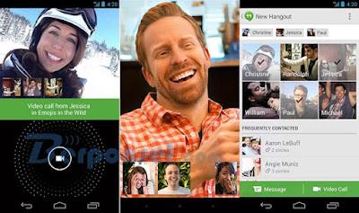 Aplikasi Video call google hangout