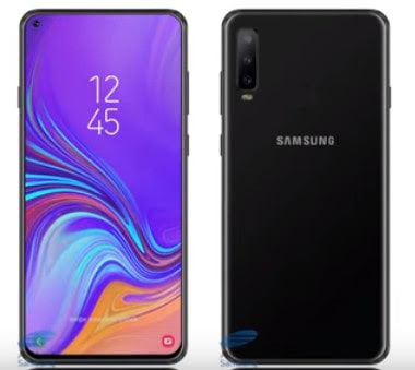SAMSUNG A8S release December in india RAM: upto 6GB