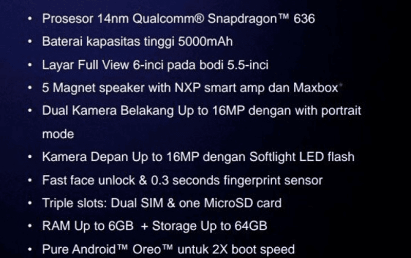 Alleged specs of the Max Pro M1