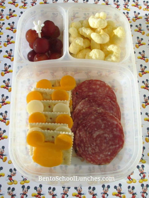 Mickey Mouse themed lunchables