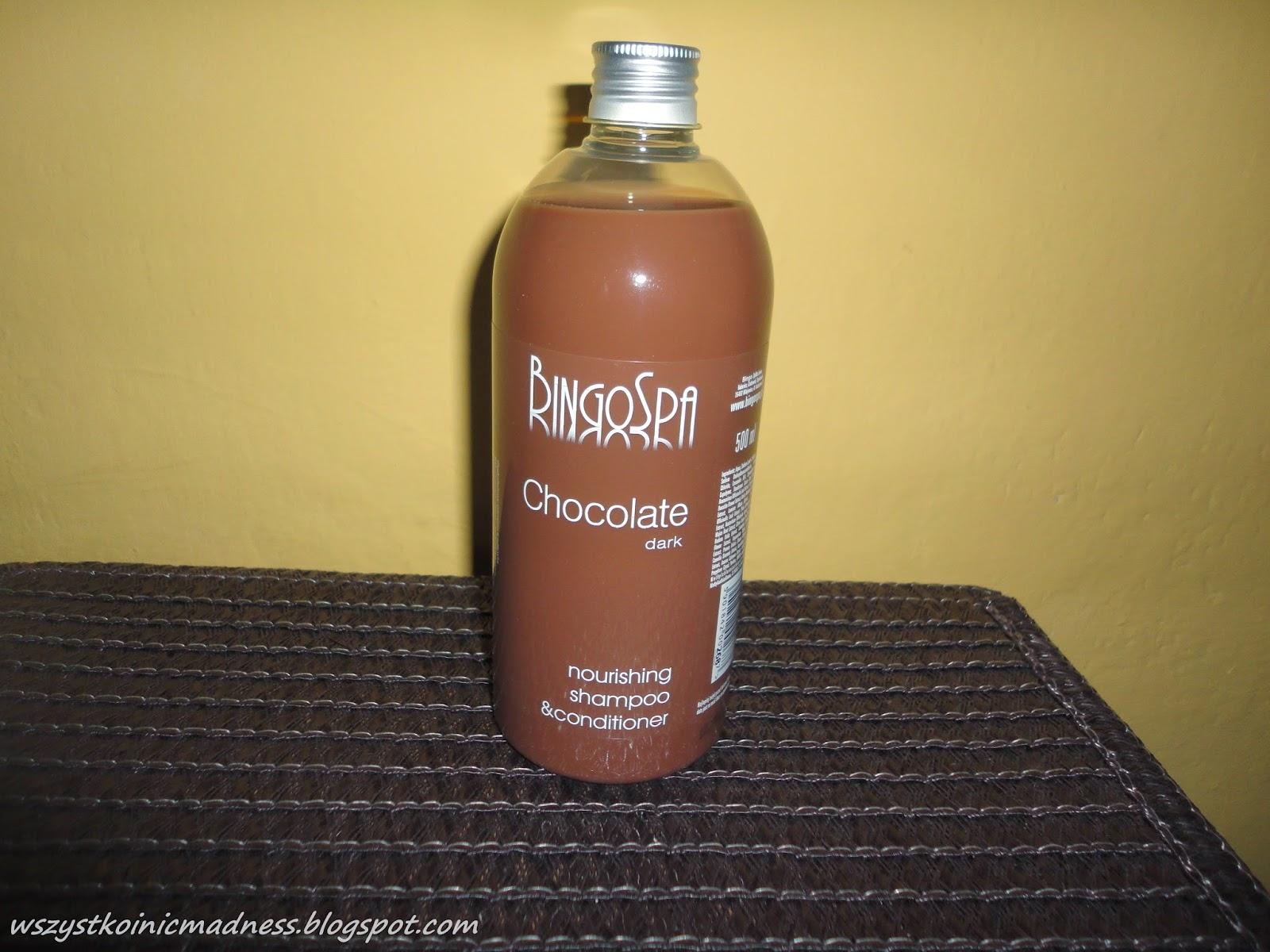 BingoSpa czekoladowy szampon z odżywką