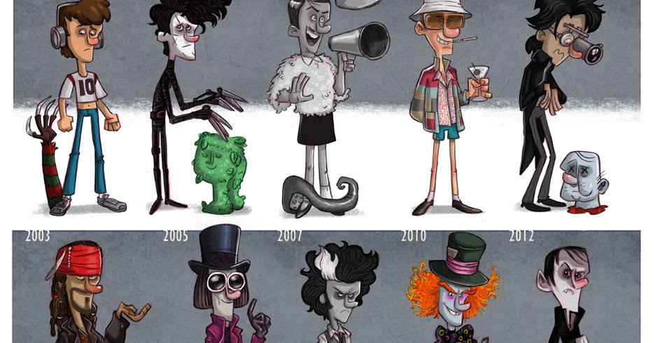 Wicked Crispy Actor Evolution Johnny Depp