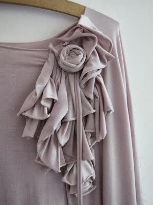 flores para personalizar la túnica