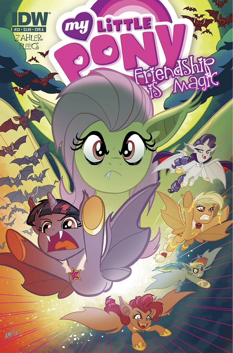 MLP Friendship Is Magic Issue Amp 33 Comic Covers MLP Merch