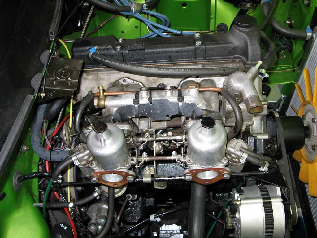 Beans Triumph Tr7 Blog Changing The Dhc S Water Pump