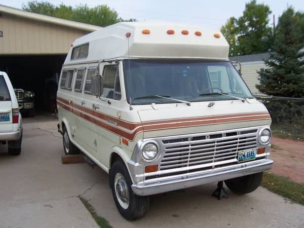 Ford Econoline Camper on Ford 300 Straight 6 Engine For Sale