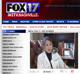 Dr Cochran Featured on Fox News and ABC News Affiliates