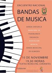 La Sinfónica de #Pozoblanco, intervendrá en el Encuentro Nacional de Bandas de Música de Almadén