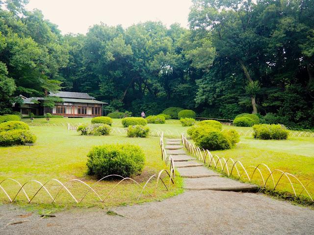 Gardens at Meiji Jingu Shrine, Tokyo, Japan