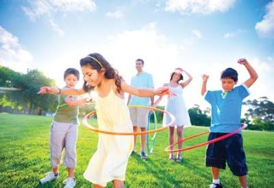 aktivitas fisik bersama anak