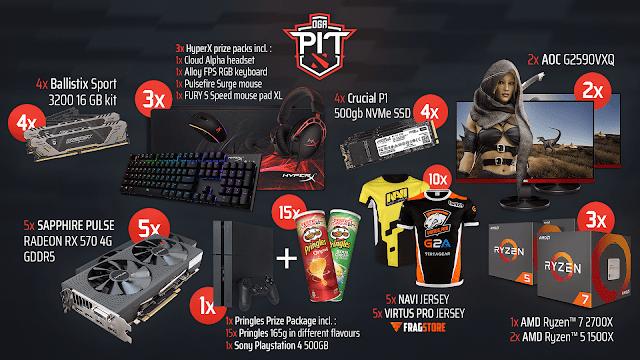AMD Sapphire Dota Pit 2019 Gaming Giveaway #Worldwide | Free Stuff