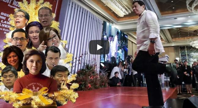 Pangulong Duterte Sinagot At Nilinaw Na Ang Revolutionary Government Issue