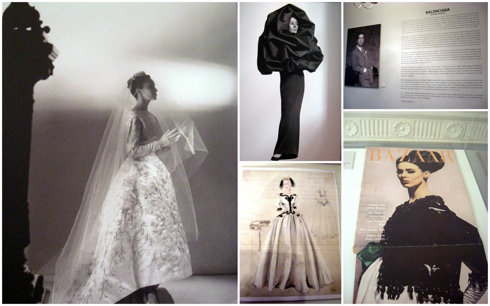 a discussion on cristobal balenciagas influence on fashion Balenciaga wedding dress, 1945 from the cristobal balenciaga museum find this pin and more on historical/vintage: basic white not by kxbcheese balenciaga.
