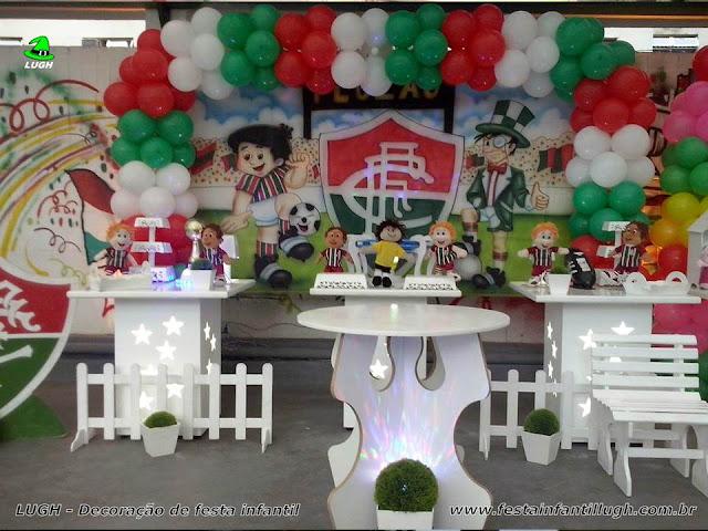 Decoração infantil tema do Fluminense - Festa de aniversário - Decoração provençal