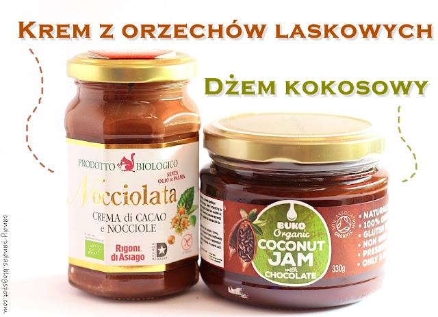 Krem z orzechów laskowych i dżem kokosowy – Nocciolata, Buko Organic
