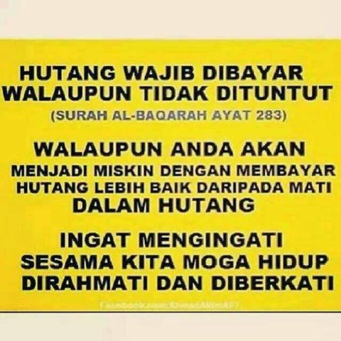 10 Adab Berhutang Menurut Islam!