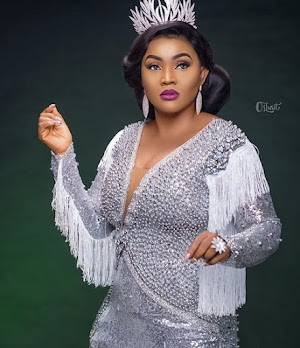 Mercy Aigbe Dazzle In Two Pre-Birthday Photoshoots As She Counts Down To Her 40th Birthday