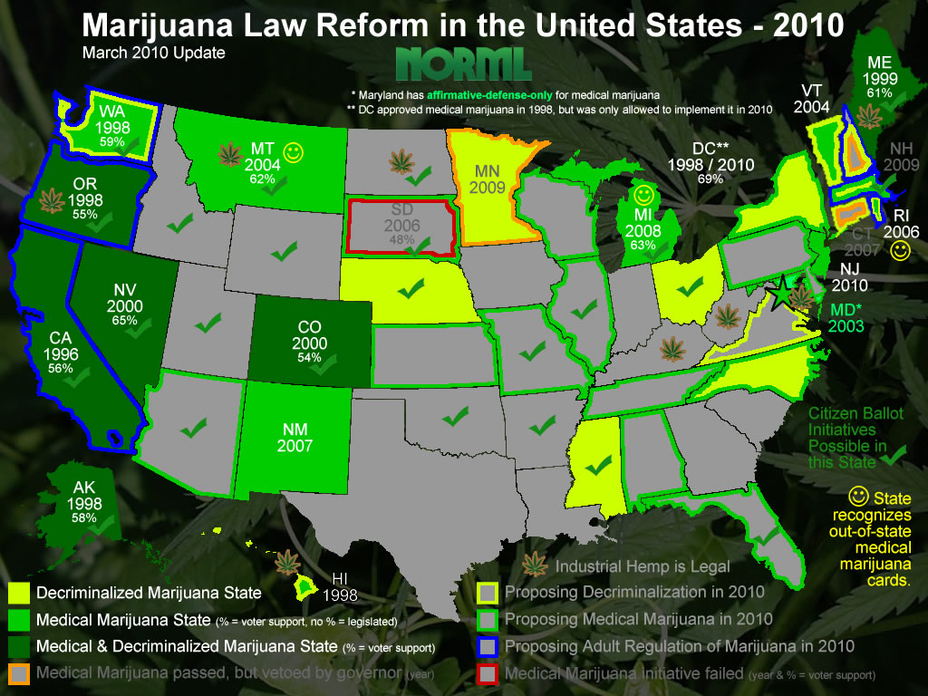 An introduction to the major reasons for legalization of marijuana in the united states