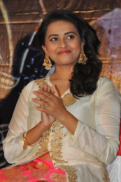 Sri Divya at Kaashmora Telugu Movie Music Release