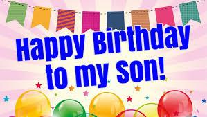 Ucapan Hari Lahir Anak Laki Laki Dalam Bahasa Inggris