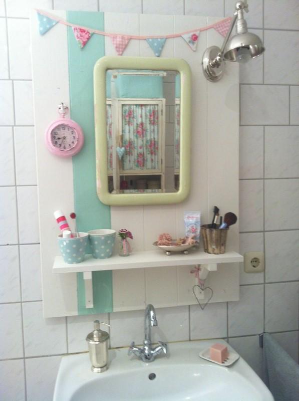 Lille Gren: Neues fröhliches Badezimmer
