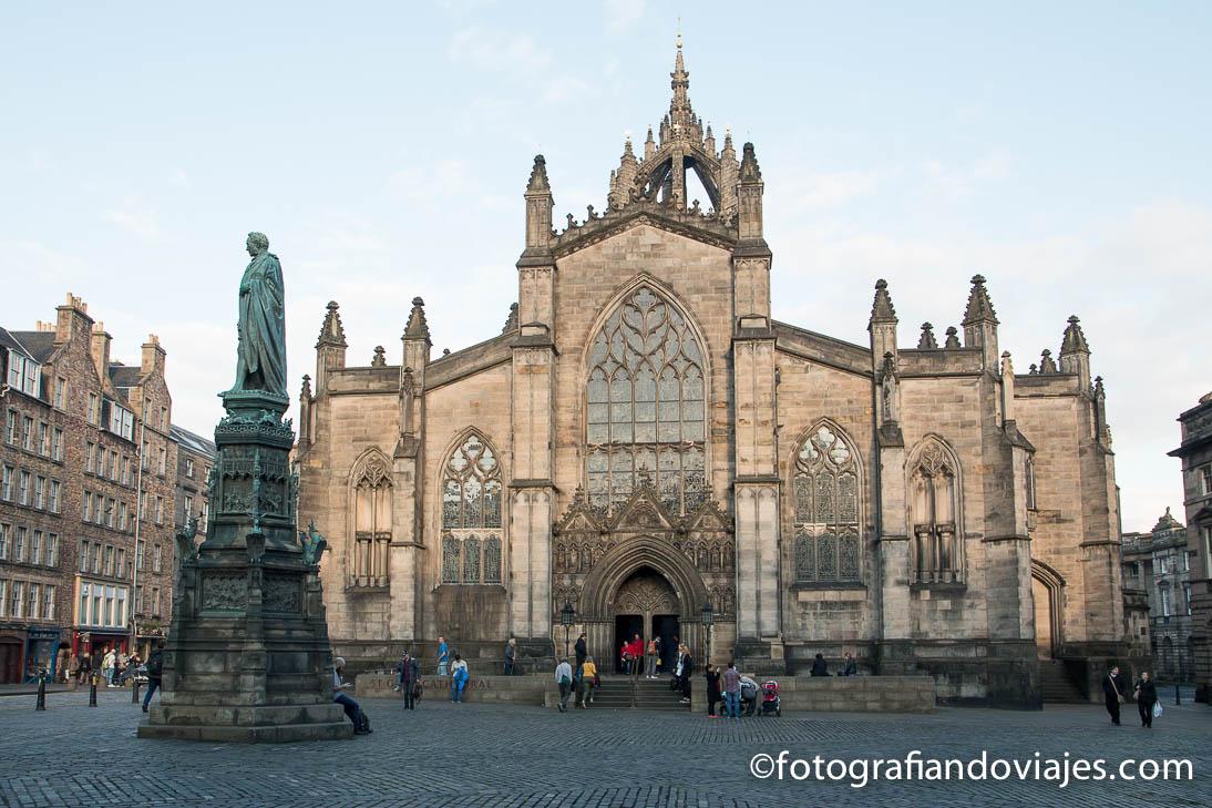 La old town en Edimburgo