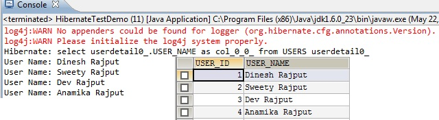 Hibernate Select Clause