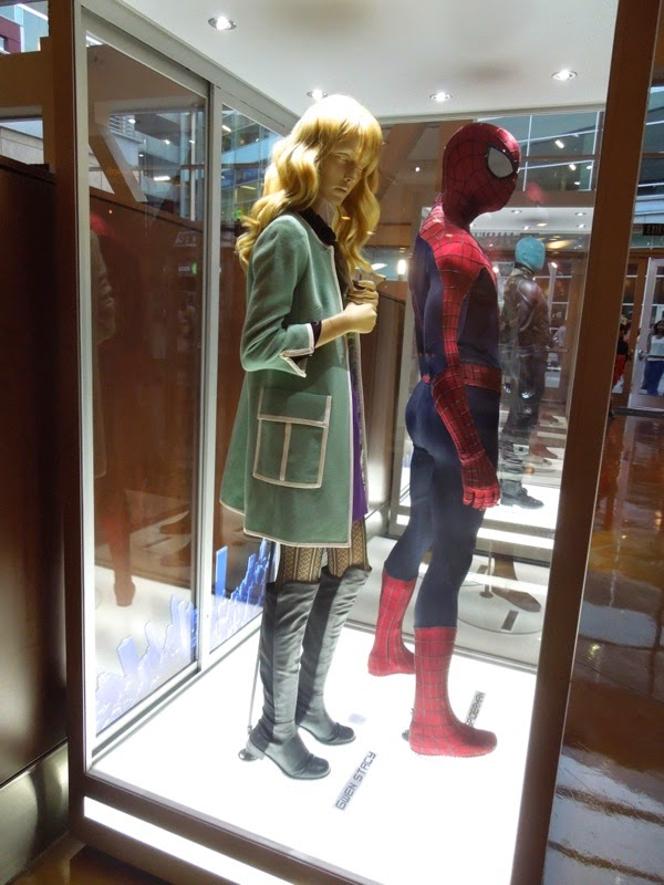Amazing Spider-man 2 movie costumes