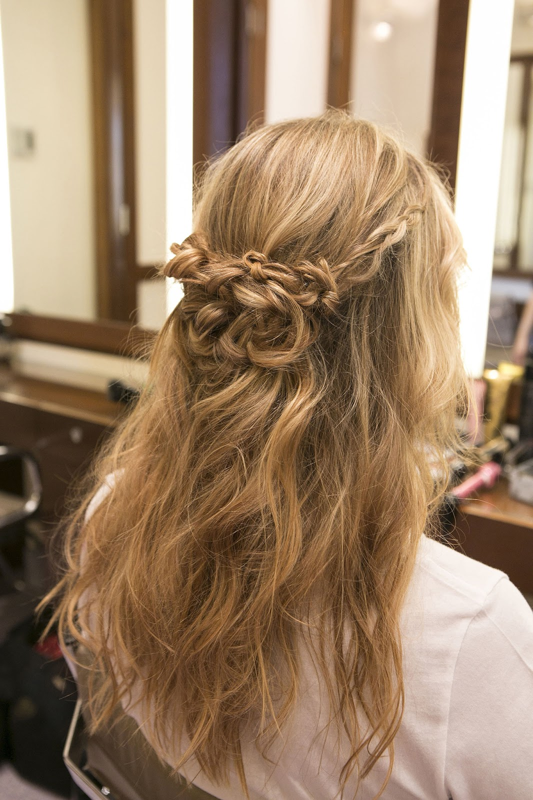 Easy Braided Half Up New Prom Hairstyles ~ Best Haircuts