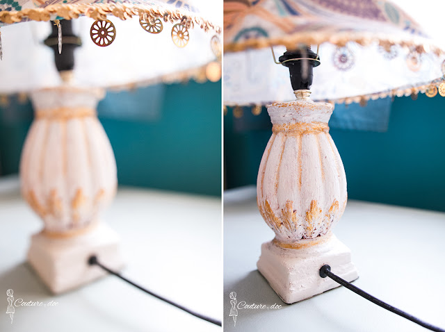 diy, lampka nocna, orientalny styl, design