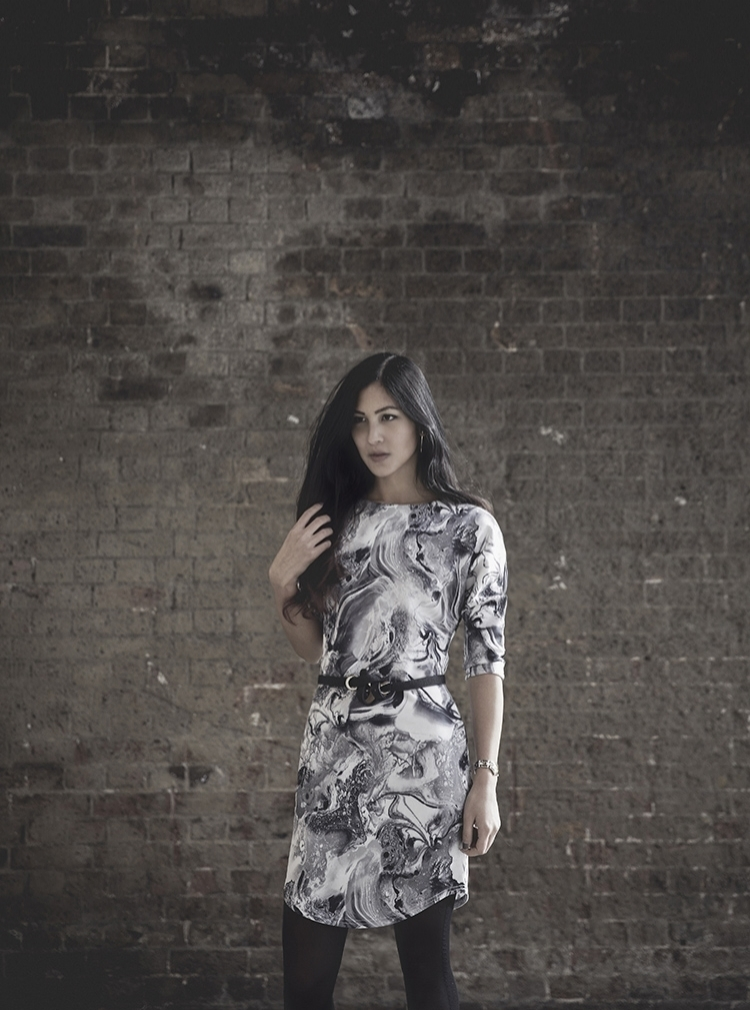 Euriental || fashion & luxury travel || YMC coat, Jeffrey Campbell wedges, ASOS marble dress.