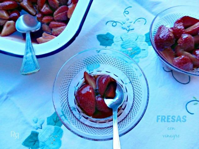 """""""Fresas con vinagre"""""""