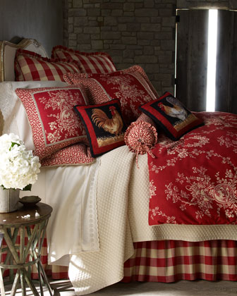 Girl Meets Toile De Jouy 16 Master, Sherry Kline Home Collection Country Manor Bedding