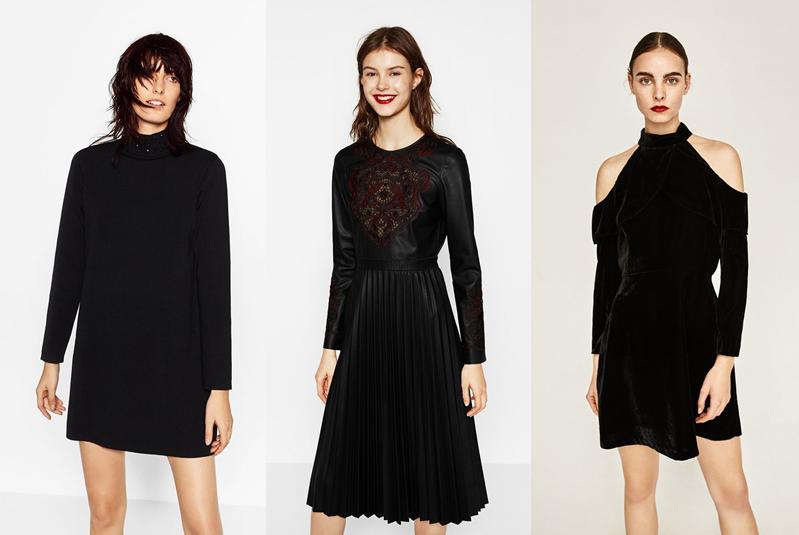 4e2c4e2119 Aksamitne sukienki z wyciętymi ramionami to ostatnio bardzo gorący trend.  Tę znajdziecie nadal w dziale wyprzedażowym w Zarze.