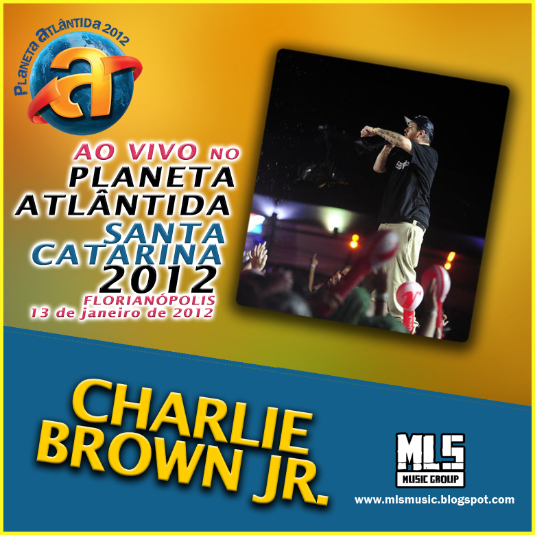 dvd charlie brown jr no planeta atlantida 2012