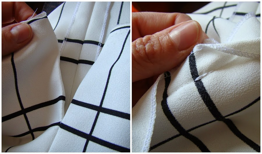 Apertura de costura