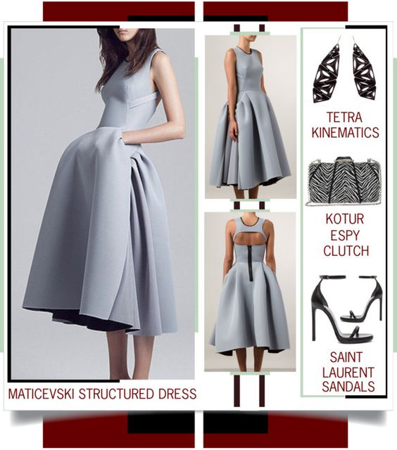Lust Worthy - Maticevski Structured Dress www.toyastales.blogspot.com #ToyasTales