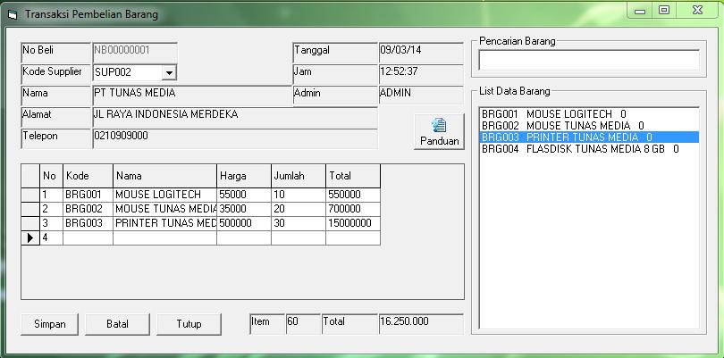 Download Program Aplikasi Retail