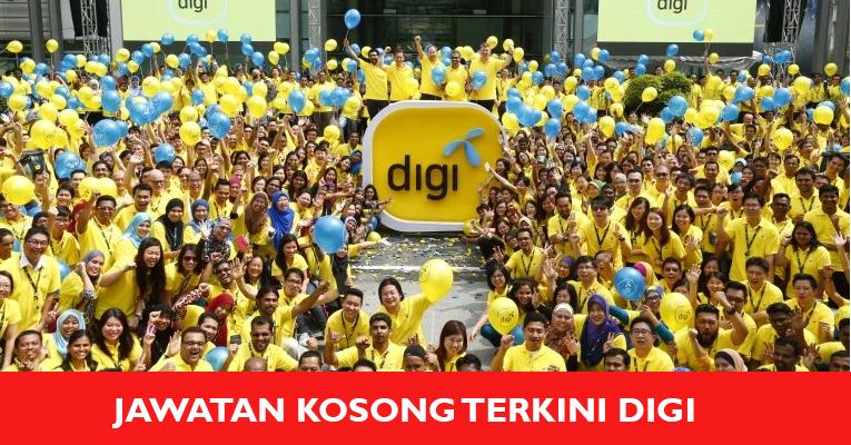 Jawatan Kosong di DiGi Telecommunication Sdn Bhd