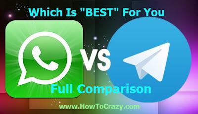 WhatsApp vs Telegram - Which is BEST For You? Check Here