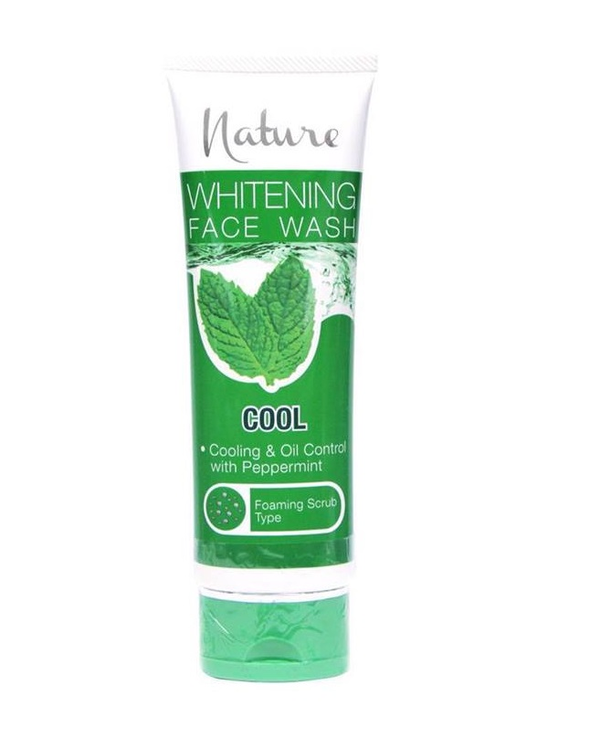 Nature Cool Whitening Facewash 100g
