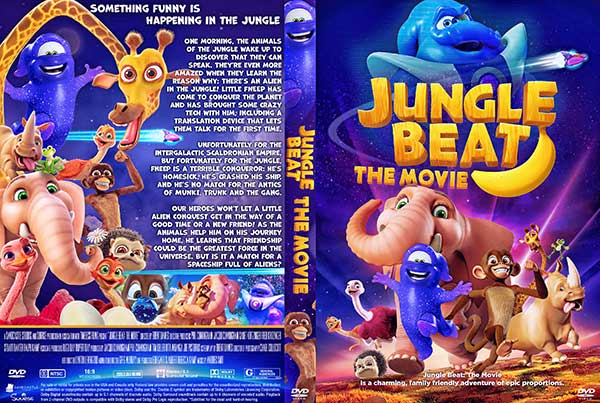 Jungle Beat: The Movie (2020) DVD Cover