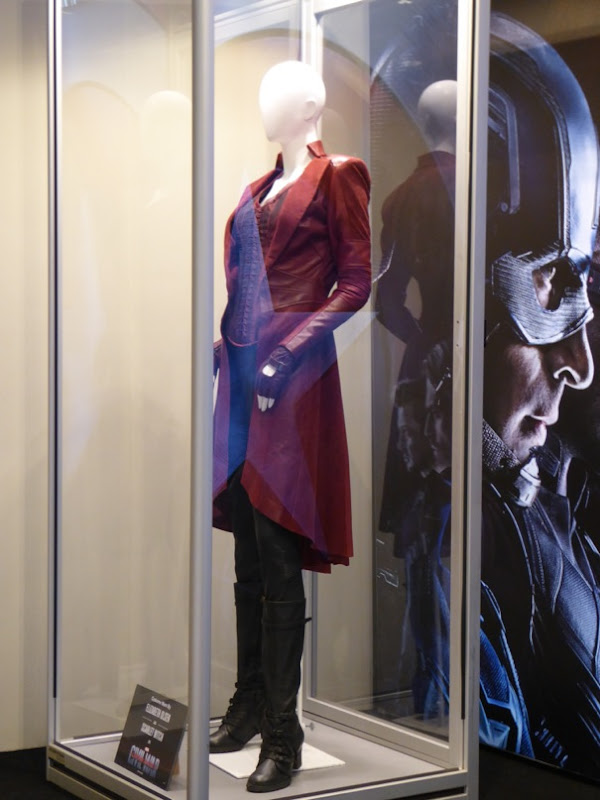 Scarlet Witch costume Captain America Civil War