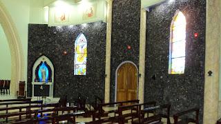 Igreja São Gabriel, em Ametista do Sul: Paredes com 40 Toneladas de Pedras Preciosas!